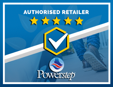 We Are an Authorised Retailer of Powerstep Products