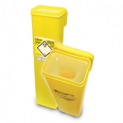 Sharpsafe 7.5 Litre Protected Access Quiver Sharps Disposal Unit (Pack of 20)