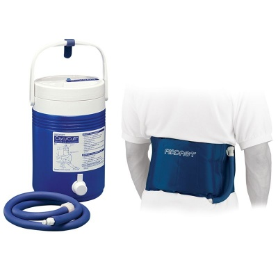 Aircast Back, Hip and Rib Cryo Cuff with Cryo Cooler Saver Pack