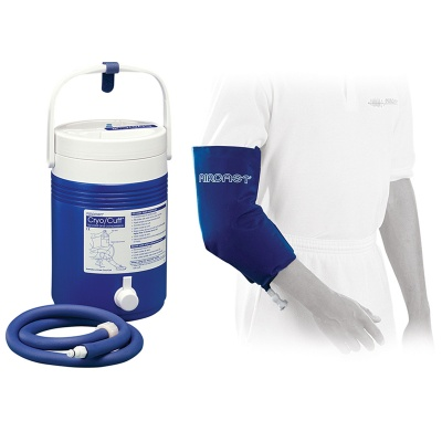 Aircast Elbow Cryo Cuff with Cold Therapy Gravity Cooler Saver Pack
