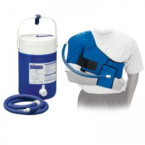 Donjoy Arcticflow Shoulder Wrap with Cold Therapy Cooler Unit