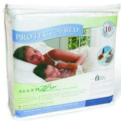 AllerZip Bed Bug and Allergy Mattress Protector