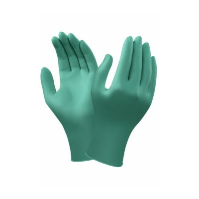 Ansell TouchNTuff 92-600 Disposable Nitrile Gloves with Virus Protection