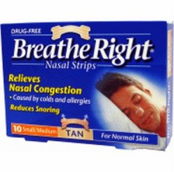 Breathe Right Nasal Strips (10 Pack)