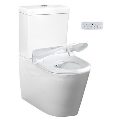 USPA CCP-7035 Wash and Dry Shower Toilet with Remote Control