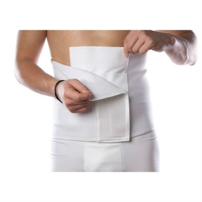 Comfizz 27cm Deep Abdominal Support Belt with Bone Rib Support