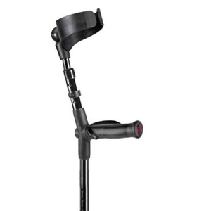 Flexyfoot Anatomical Soft Grip Handle Closed Cuff Crutch