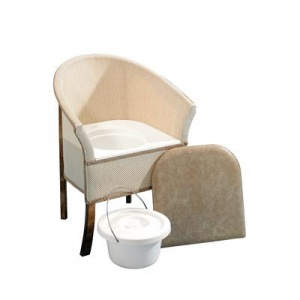 Commode Pan for the Homecraft Bedroom Commode