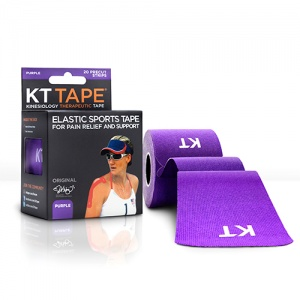KT Tape Kinesiology Therapeutic Tape Purple