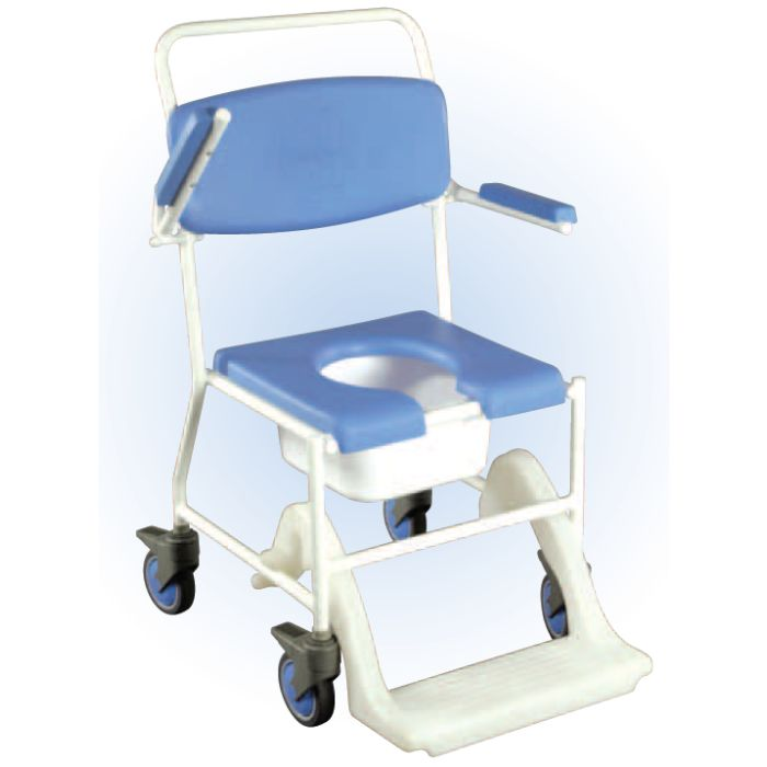 Drive Medical - Uppingham Mobile Commode Shower Chair :: Sports ...