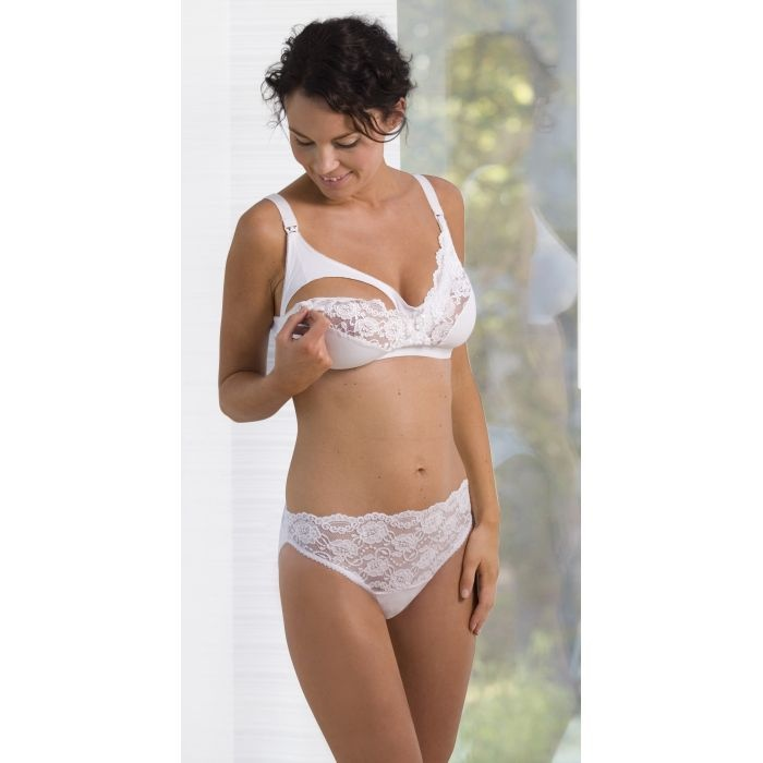 094ea77aaa1a9 Carriwell Lace Drop Cup Maternity Bra    Sports Supports