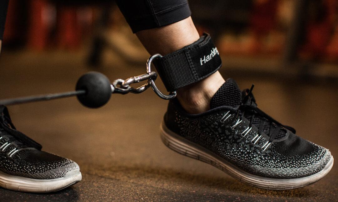 Harbinger Neoprene Padded Cable Ankle Strap
