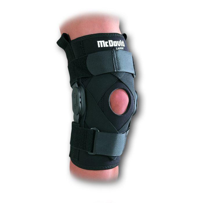 Mcdavid Hinged Knee Brace With Crossing Straps Health