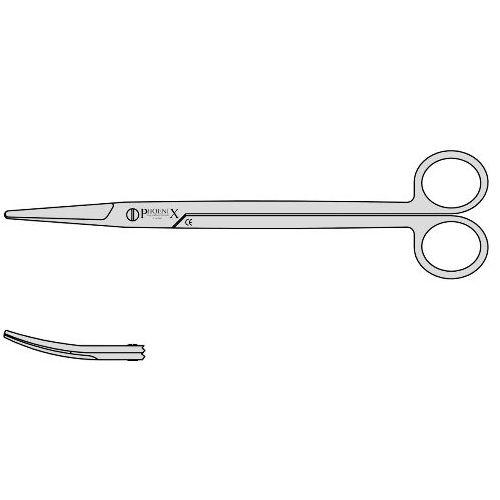 Wilson Tonsil Scissors 200mm Curved