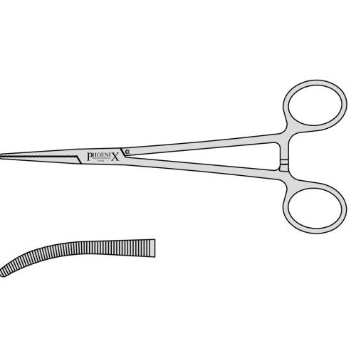 Kelly Frazier Artery Forceps With Box Joint (Also Known As Frazer Kelly)  180mm Curved