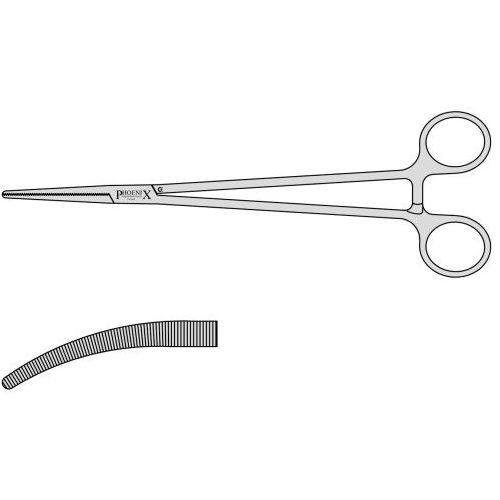 Robert Artery Forceps With Box Joint Roberts 230mm Curved