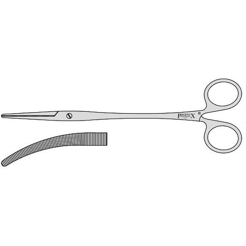 Robert Artery Forceps With Screw Joint Roberts 230mm Curved