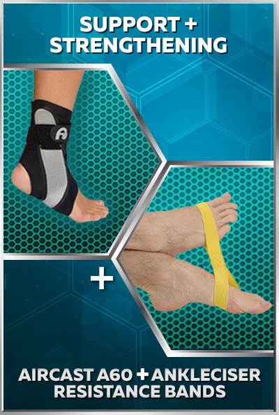 Three-Stage Ankle Sprain Recovery Bundle