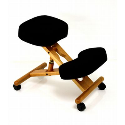 BetterPosture Classic Plus Wooden Kneeling Chair Sports Supports