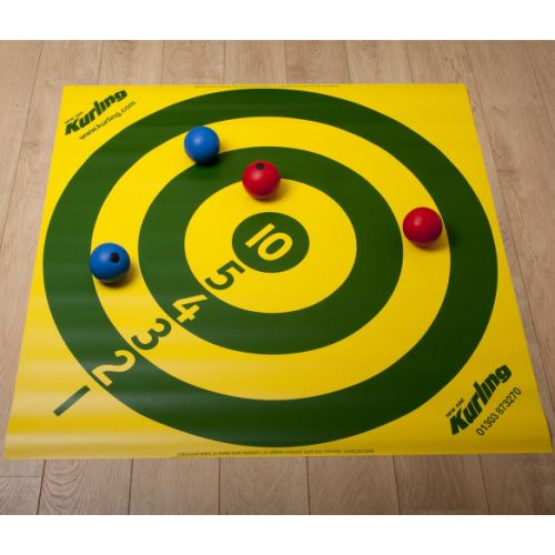 New Age Kurling Bowls Numbered Target Sports Supports