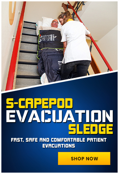 S-CAPEPOD provides safe evacuations for bedridden patients