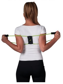 Wearing the Posture Medic Posture Brace
