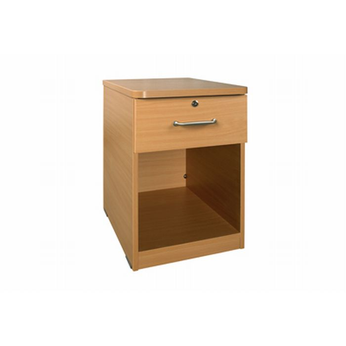 Sunflower Medical Bedside Cabinet With Open Front And
