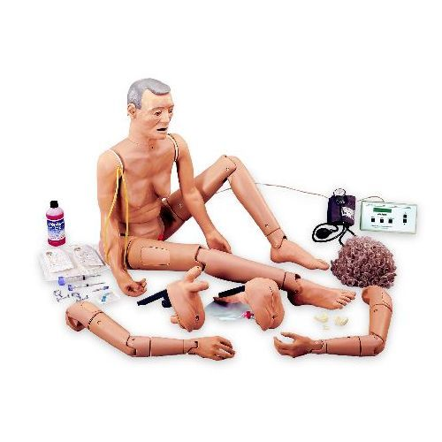 d38e3aeb4e Advanced Geri Nursing Skills Elderly-Care Manikin :: Sports Supports ...