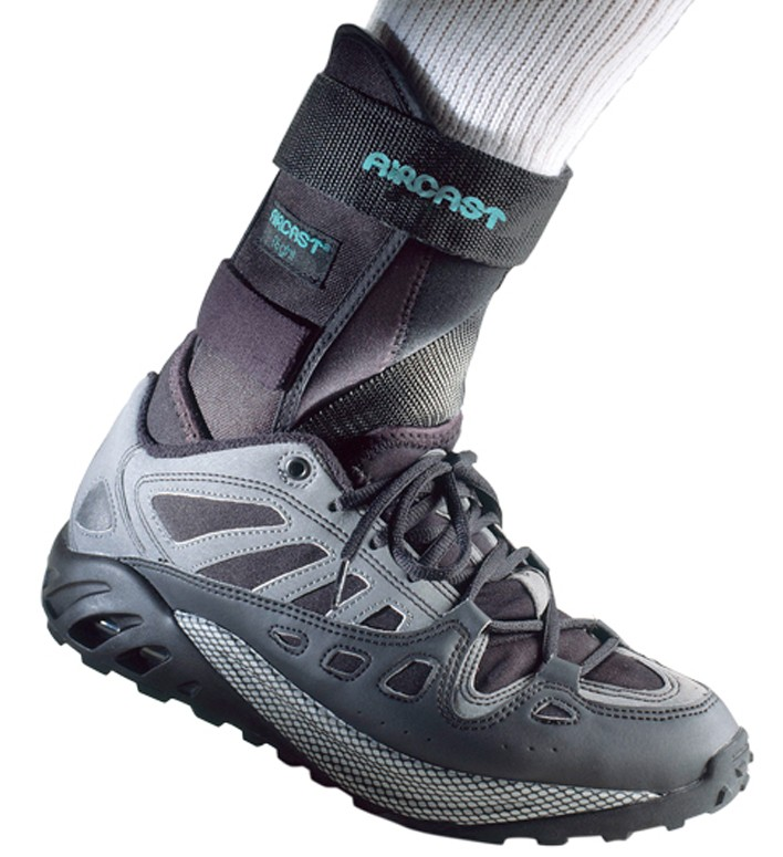 Aircast AirSport Ankle Brace Cushions And Protects The Ankle