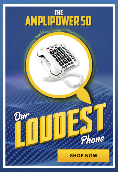 Our Loudest Amplified Telephone - The Amplipower 50