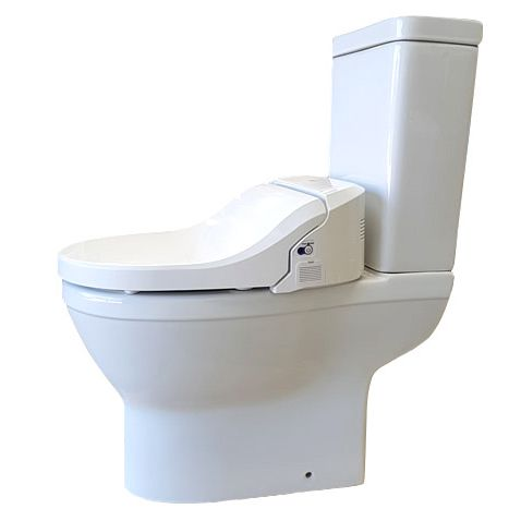Uspa Ccp 7035ca Wash And Dry Shower Toilet With Cutaway And Remote