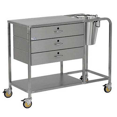 Bristol Maid Stainless Steel Plaster Trolley Health And Care