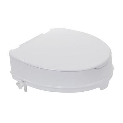 Locking Clamp For The Raised Toilet Seat With Lid