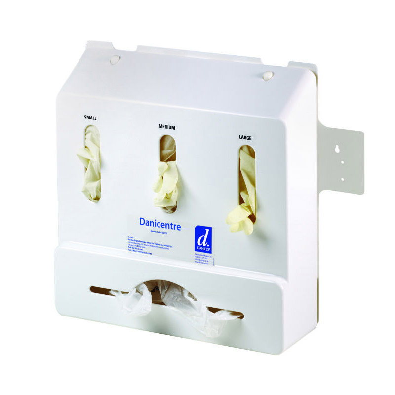 Danicentre Standard Wall Mounted Glove And Apron Dispenser