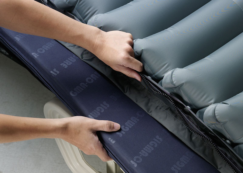Apex Domus 3 Pressure Relief Alternating Air Mattress Overlay optional foam insert