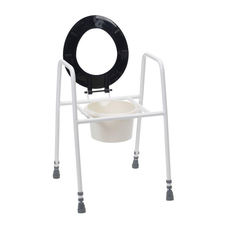 Fine Drive Medical Sackville Raised Toilet Seat Frame Pdpeps Interior Chair Design Pdpepsorg