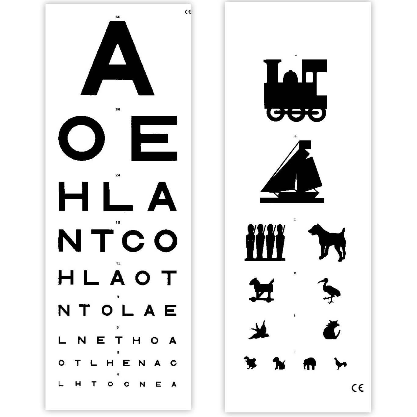 a72c677d5585 Eye Test Chart 6 Metre Distance    Sports Supports