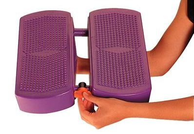 The Gymnic Movin' Step Balance Trainer Is Incredibly Easy To Use & Change Modes