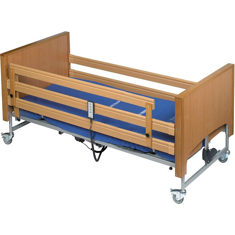 harvest height extension side rail for woburn profiling beds sports supports mobility. Black Bedroom Furniture Sets. Home Design Ideas