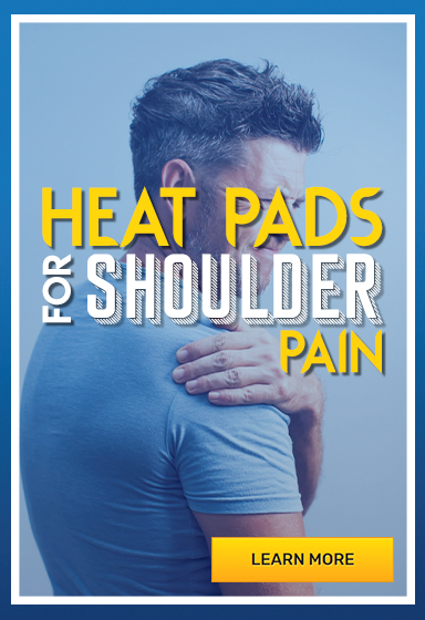 Heat pads for shoulder pain