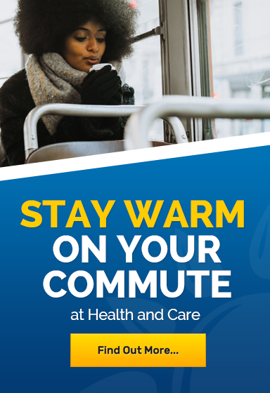 Stay warm on your winter commute