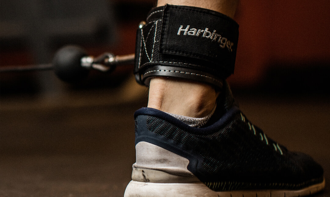 Harbinger Heavy Duty Cable Ankle Strap
