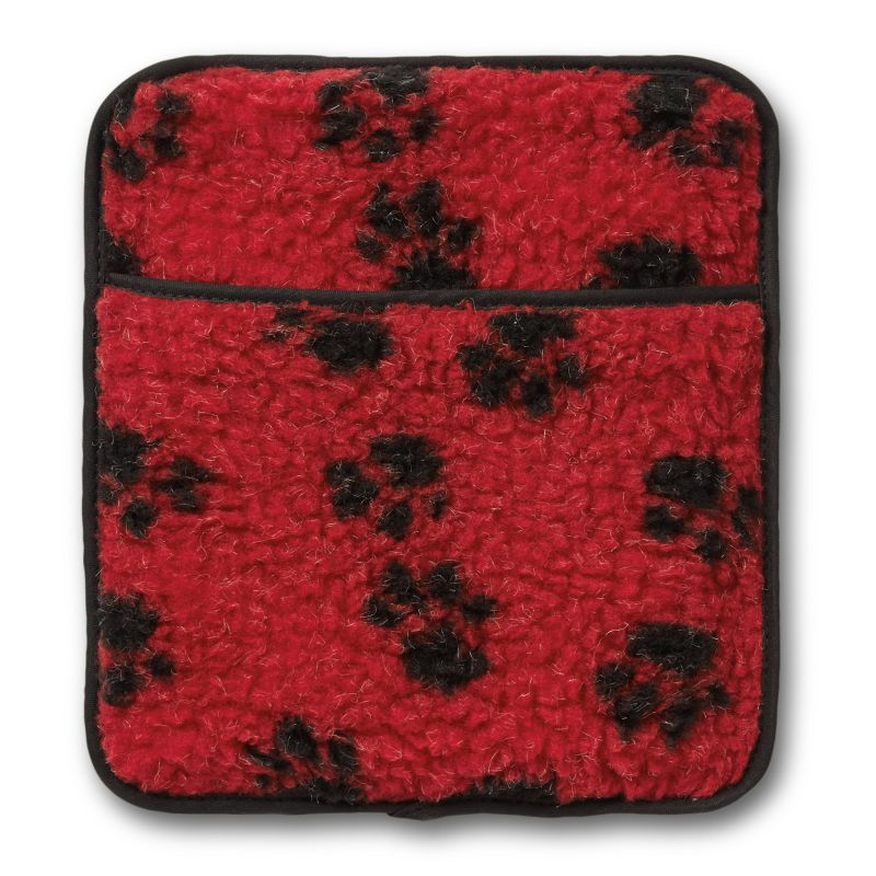 Hotties Red Paw Print Microwaveable Pet Warmer