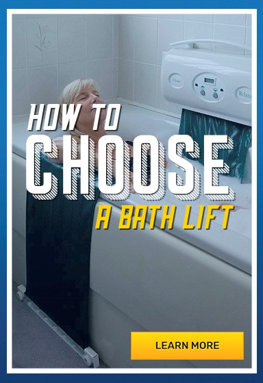 How to choose a bath Lift for safety in the bath