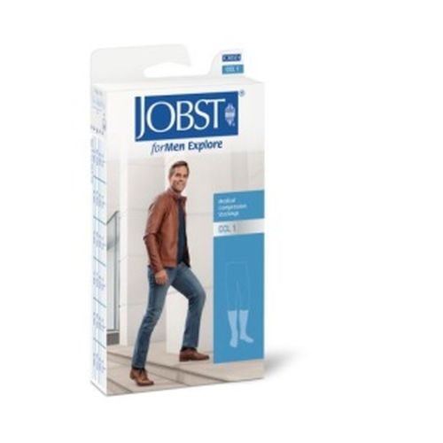 92ab9e692 JOBST For Men Explore Compression Class 2 Black Below Knee Closed ...