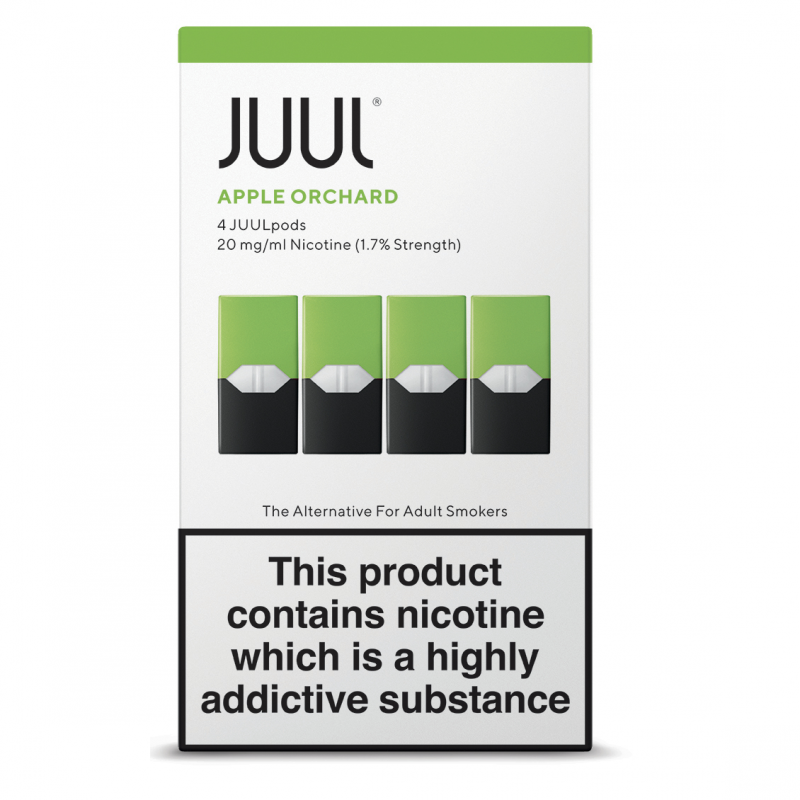 JUUL Apple Orchard JUUL Pods (Pack of 4 Refill Cartridges)