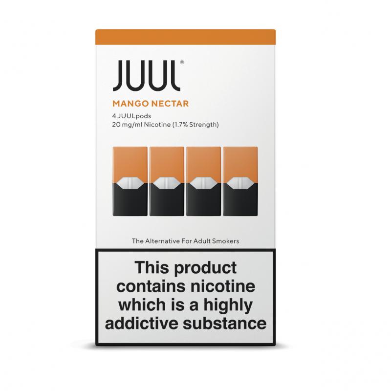 JUUL Mango Nectar JUUL Pods (Pack of 4 Refill Cartridges)