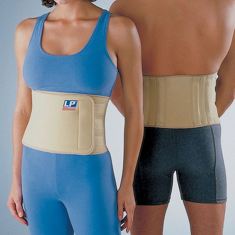 LP Neoprene Back Support with Stays | Health and Care