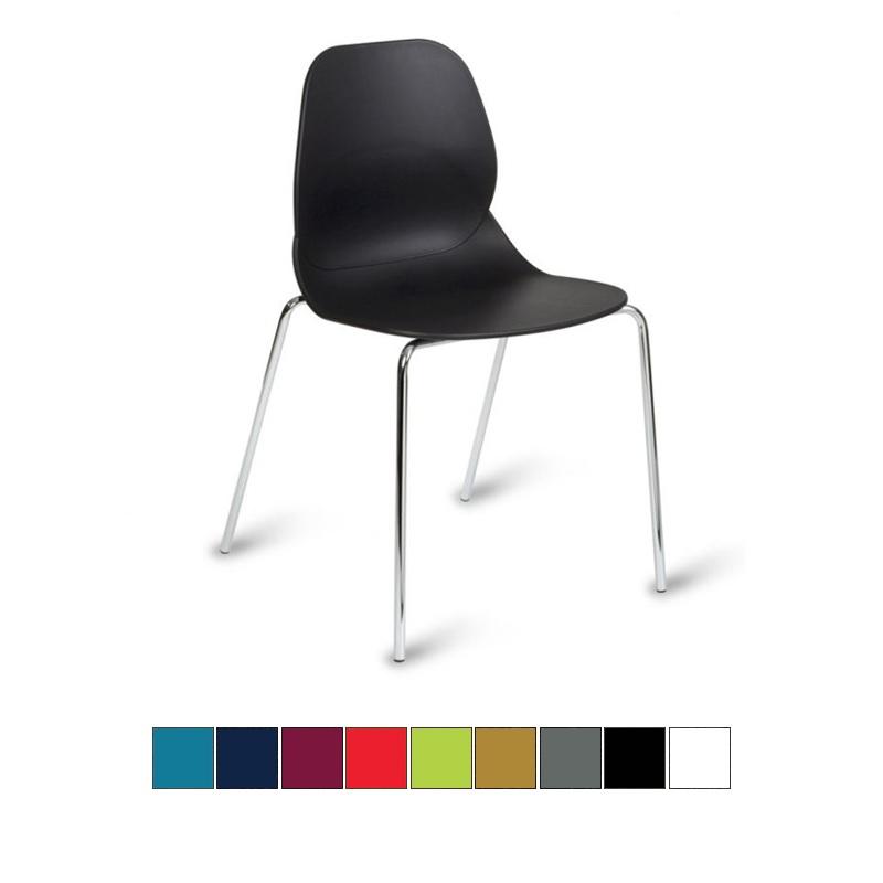 medi plinth shoreditch polypropylene chair sports supports