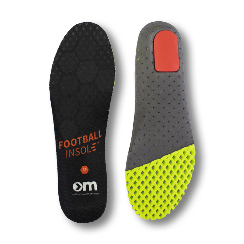 Ortho Movement Football Insoles for football and other sports